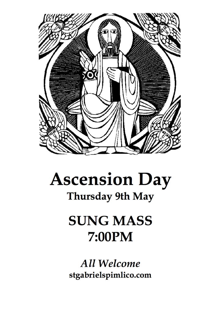 Ascension Day Poster copy